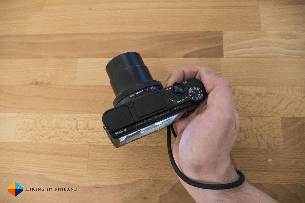 Sony RX100III handling