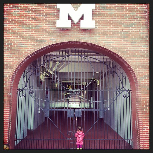 Little girl...Big House. December 20, 2014