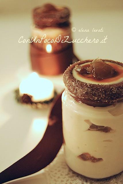 Crema di ricotta e marrons glacès