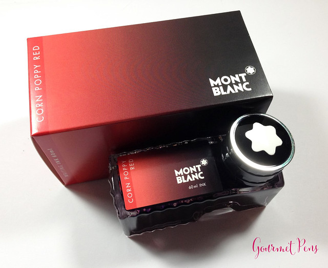 Review: Montblanc LE Corn Poppy Red Ink @couronneducomte @Montblanc_US @Montblanc_world