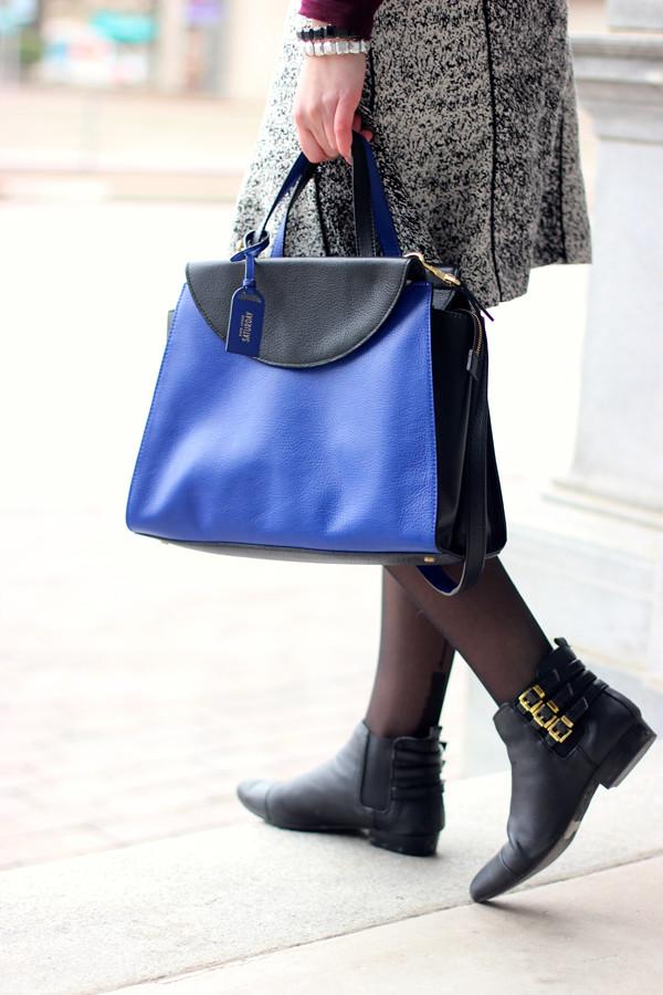 kate spade saturday color block A satchel