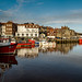 Whitby Harbour by dave hudspeth photography
