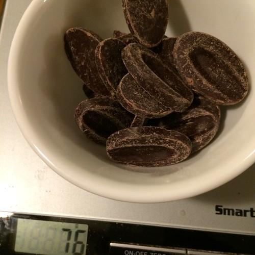 チョコレートミニキューブブレッド
