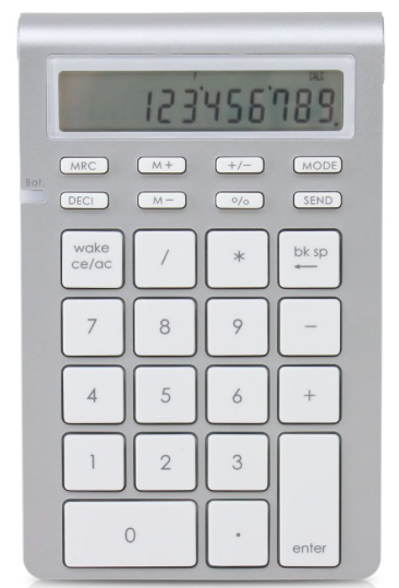Satechi number pad