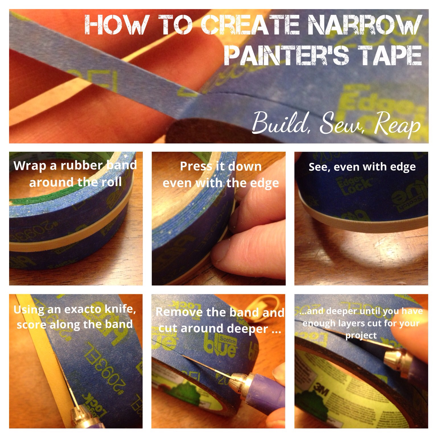 Creating Narrow Painter's Tape