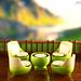 Mountain Villa Terrace Chair Set by KOS brick