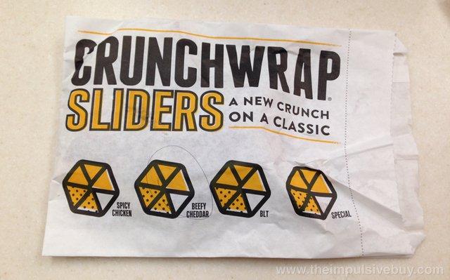 Taco Bell Crunchwrap Sliders