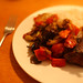 Small photo of Aubergine Pahi with steak and rice