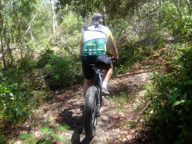 Riding to Cootharaba