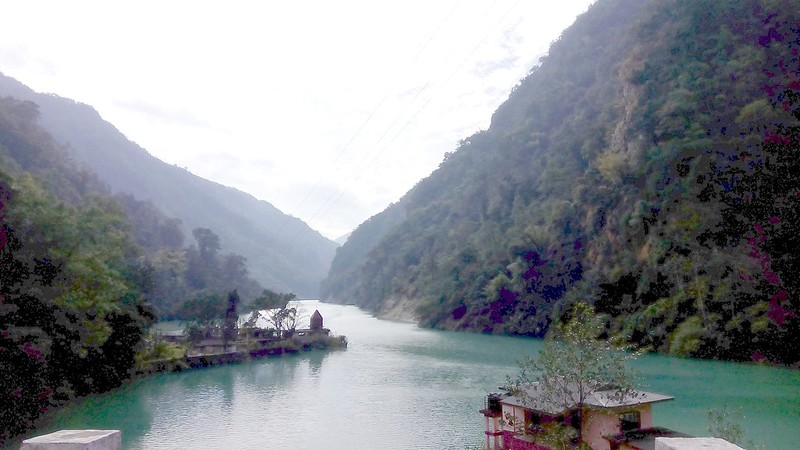 scenic beauty on way to gangtok