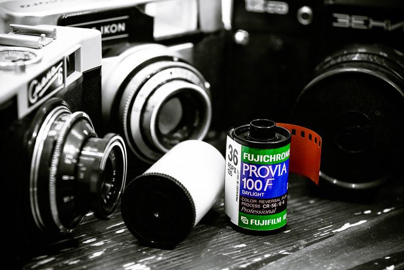 Fujichrome Provia 100F
