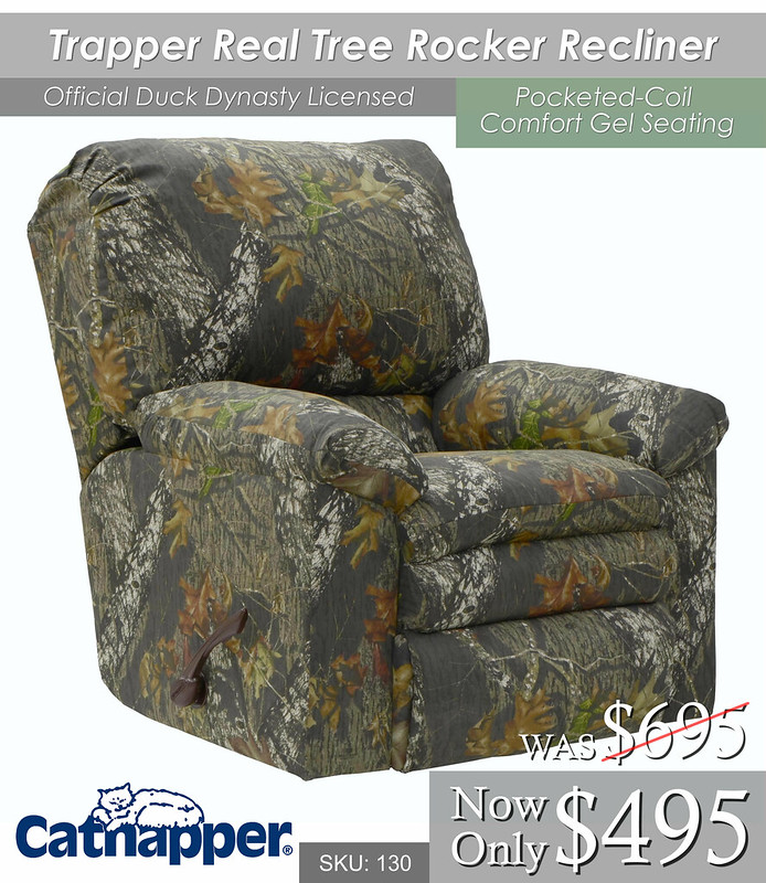 Trapper Real Tree Recliner