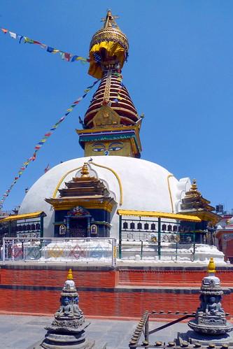 Nepal - Kathmandu - Buddhist Temple - 52