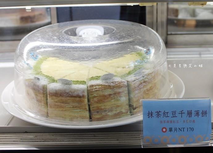 9 台南 深藍咖啡館 千層蛋糕