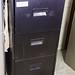 Black 3 drawer filing cabinet