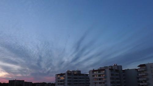 sunrise poland warsaw warszawa tarchomin slonca wschod białołęka bialoleka