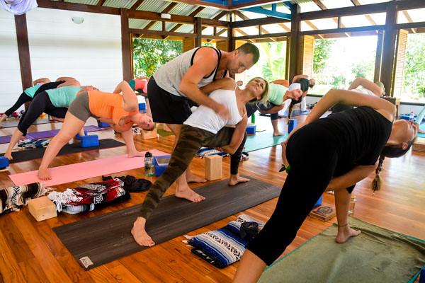 Yoga Teacher Training in Costa Rica Bound Side Angle Pose