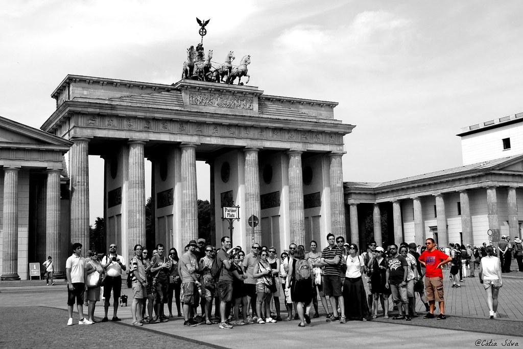 Around Berlin (3) Puerta de Brandenburgo