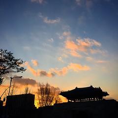 #Instagram #instaplace #korea #seoul #city #sky  #landscape #sunset #skyline