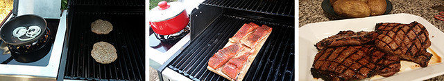 Food Cooking on the Broil King Baron 440