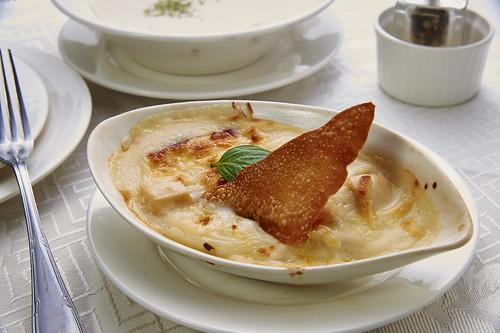 高雄新國際西餐廳正統牛排A餐套餐_附餐-起司焗海鮮