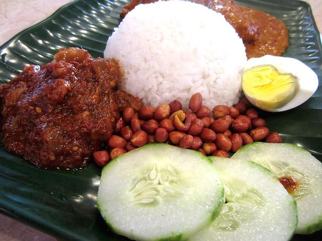 Red Carrot@Medan Hotel nasi lemak