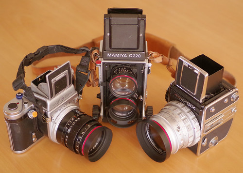 MAMIYA -C220,Kowa-SIX,PRAKTISIX