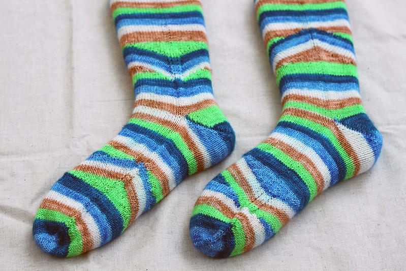 Mystik Spiral Socks II