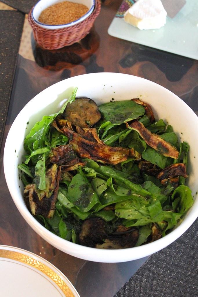 receita salada com abobrinha e berinjela