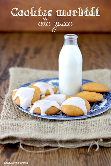 Cookies morbidi alla zucca