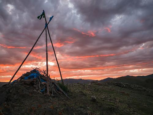sunset mongolia mng ovoo selenge hövsgöl