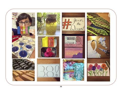 Kim Werker's Year of Making ebook page