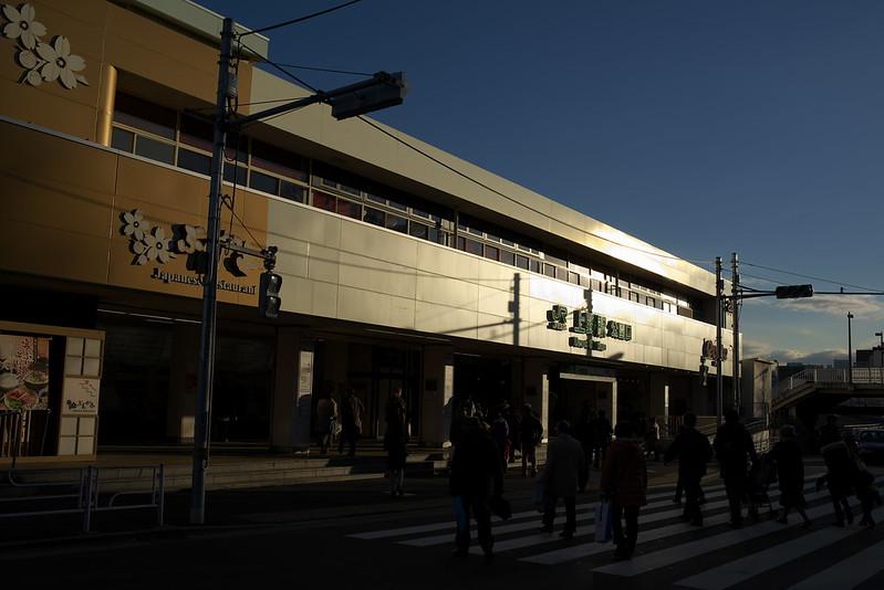 Tokyo Train Story 上野駅にて 2015年