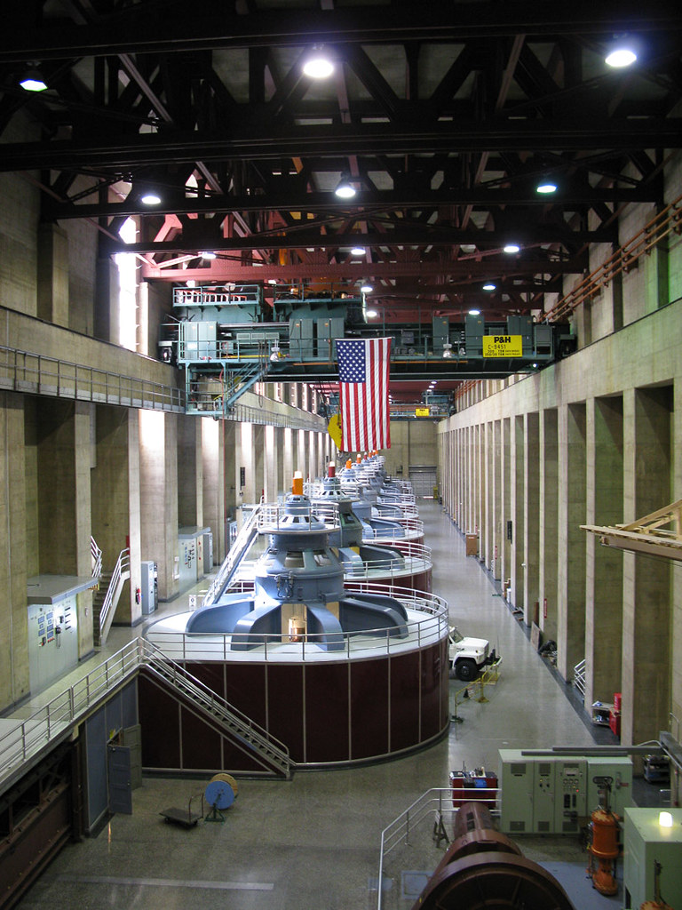 Generators in the Hoover Dam