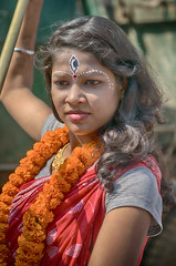 Girl from Bubaneshwar