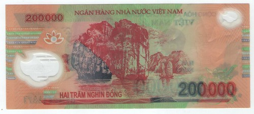 200,000 Dong counterfeit back
