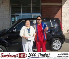 #HappyBirthday to Jose Cledera from Kathy Parks at Southwest KIA Rockwall!