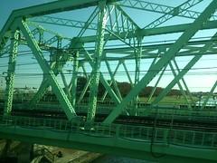 stadium(0.0), amusement ride(0.0), park(0.0), roller coaster(0.0), amusement park(0.0), truss bridge(1.0), bridge(1.0),
