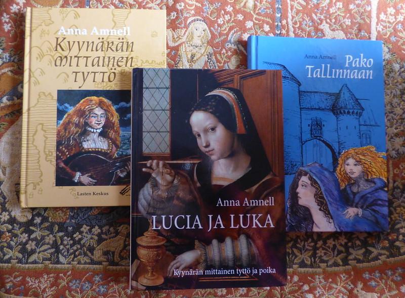 Lucia Olavintytär - kirjat