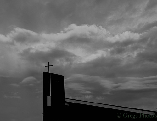 Cross in Black & White