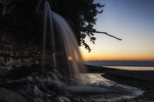 ocean morning sea sky canada sunrise river dawn waterfall sand rocks long exposure bc pacific britishcolumbia vancouverisland waterfalls juandefuca westcoast strait jordanriver