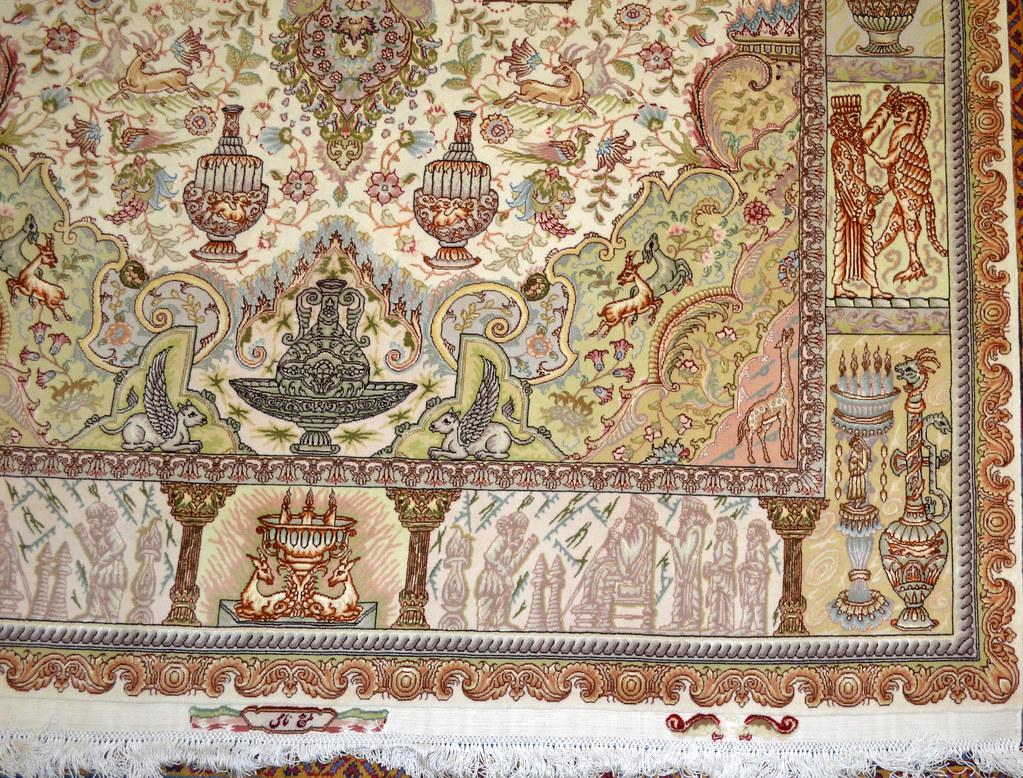 Tabriz Nami 7x10 persian Rug Kase koozeh (5)