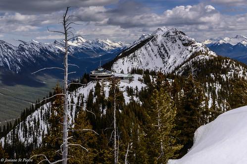 snow mountains nature landscape nationalpark nikon rockymountain banff