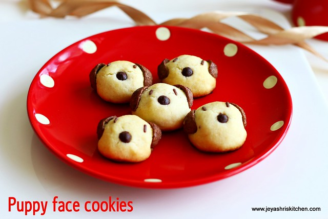Red puppy cookies recipe