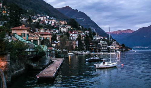 Como Italy from life of Massimo Bontempelli