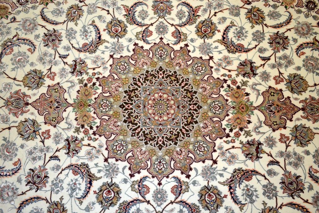 Isfahan Fine 7x10 persian Area Rug Earth Tone Color (4)