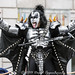 Gene Simmons with Kiss at Macy's Thanksgiving Day Parade