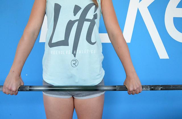 fitsters camiseta lift reevolve