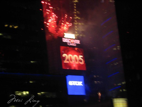 2005 in Times Square