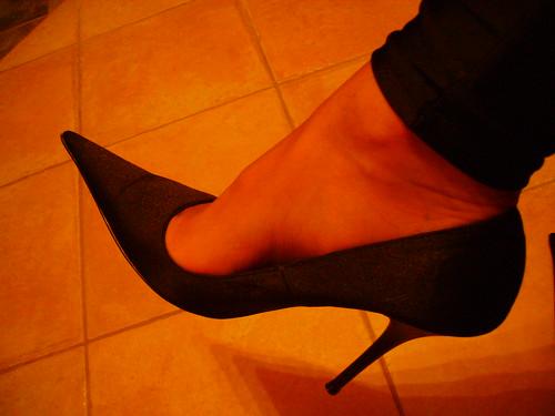 High heels pumps